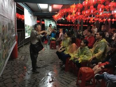 Firefly education program at Liyu Lake