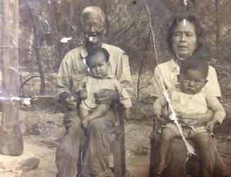 Kumiko's grandparents