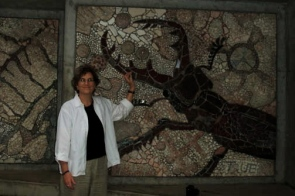 ...while I was impressed by the stag beetle mosaic